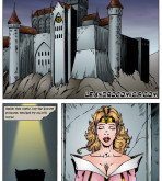 Sleeping Beauty — [Leandro Comics]  — Rescue Blowjob