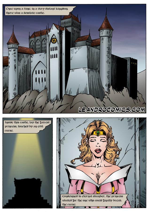 Goodcomix.tk Sleeping Beauty - [Leandro Comics]  - Rescue Blowjob