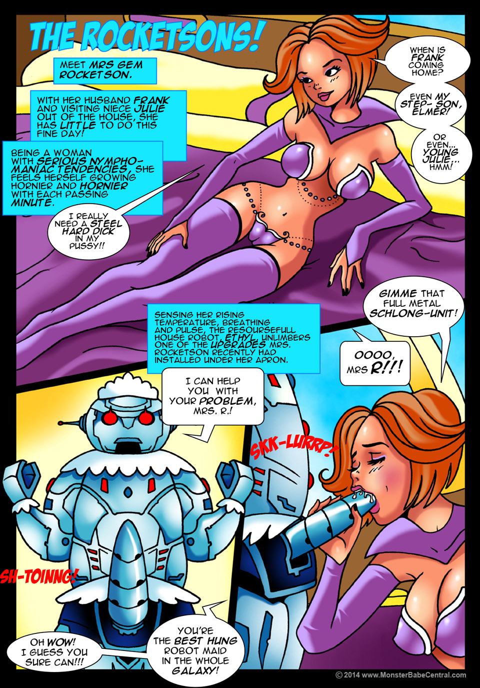 Goodcomix.tk The Jetsons - [MonsterBabeCentral] - The Rocketsons