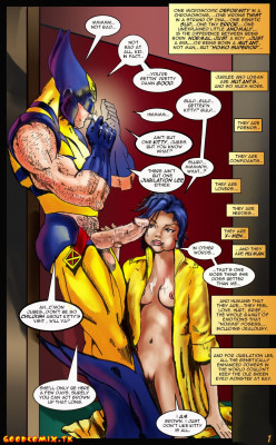 Goodcomix X-Men - [X-Men Porn] - Hentai X Men Comics Porn. Begin of Adult Story