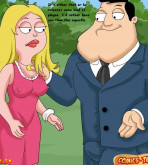 American Dad - [Comics-Toons] - Captain Roger in the Case