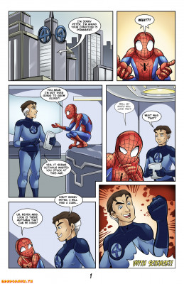 Goodcomix Spider-Man - [Glassfish] - Continuing Adventures of Young Spidey