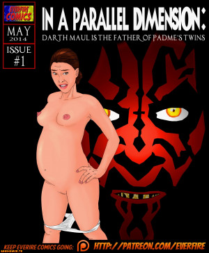 Goodcomix Star Wars (Movie) - [Everfire] - In a Parallel Dimension - Darth Maul Is Father Of Padme's Twins