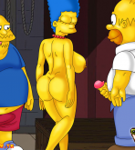 The Simpsons - [CartoonValley][NEW] - Homer & Jeff Albertson Fucks Marge 2 (Two versions)
