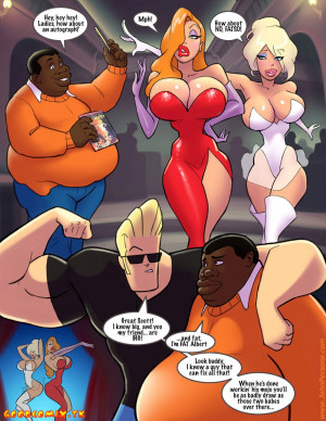 Goodcomix Who Framed Roger Rabbit - [John Persons] - Jessica Rabbit vs Big Black Cock's