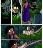 The Jungle Book — [Jinkslizard] — Kaa and Shanti