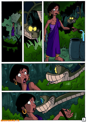 Goodcomix The Jungle Book - [Jinkslizard] - Kaa and Shanti
