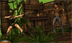 Goodcomix Tomb Raider - [Mongo Bongo] - Lara Croft & Nathan Drake