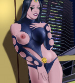 Marvel Universe & Marvel Comics — [Online SuperHeroes] — Nick Shrike Gives Nightside a Hot Creampie