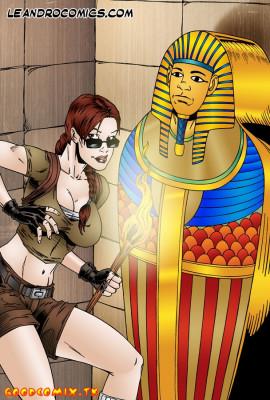 Goodcomix Tomb Raider - [Leandro Comics] - Sexy Adventures of Lara Croft