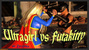 Goodcomix DC Comics - [Zuleyka] - Ultragirl Vs Futakitty