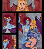 Gargoyles — [VP] — Demona X Finella
