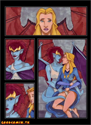 Goodcomix Gargoyles - [VP] - Demona X Finella