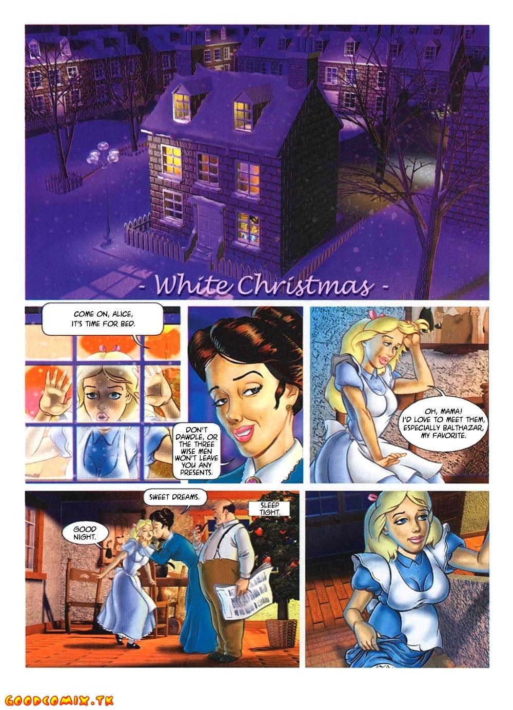 Goodcomix.tk Alice in Wonderland - [Paco Roca] - White Christmas + Cut Versions