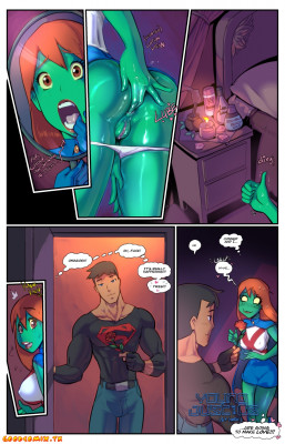 Goodcomix Young Justice - [Fred Perry] - Young Just Us