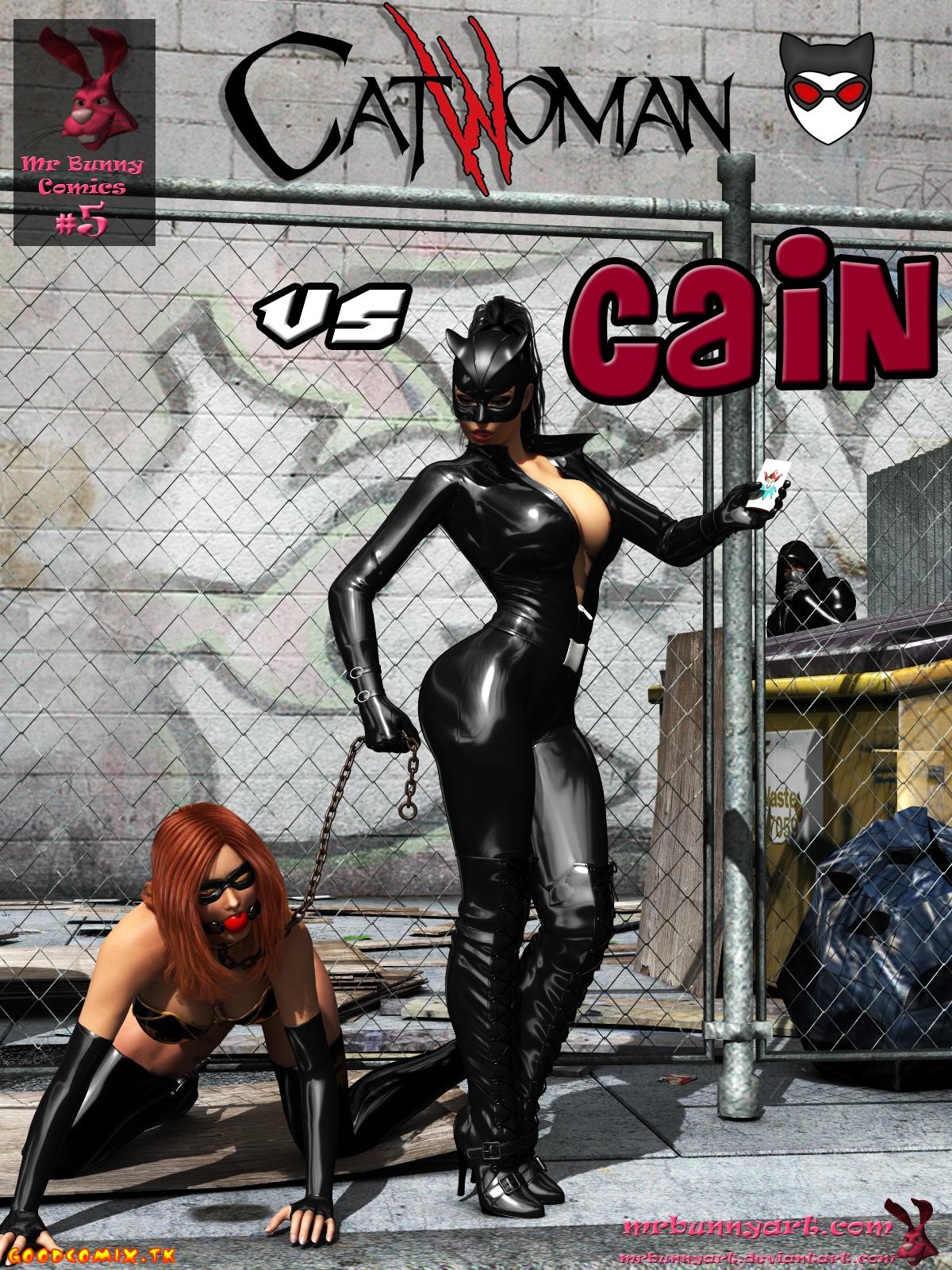 Goodcomix.tk Batman - [MrBunnyArt] - Catwoman vs Cain