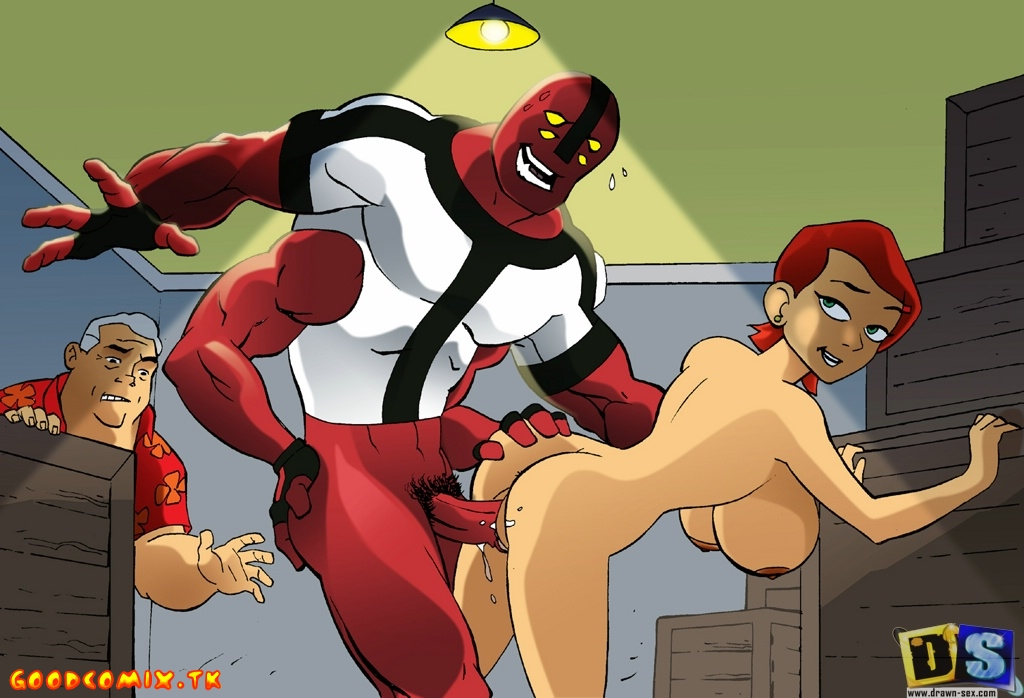 Goodcomix.tk Ben 10 - [Drawn-Sex][Leonardo] - Difficulties In The Tennyson Family