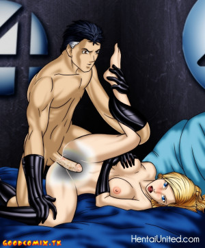 Goodcomix Fantastic Four - [GoGoCeleb][Tom] - Fantastic Sex