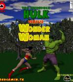 Crossover Heroes - [Shade] - The Incredible Hulk Versus Wonder Woman