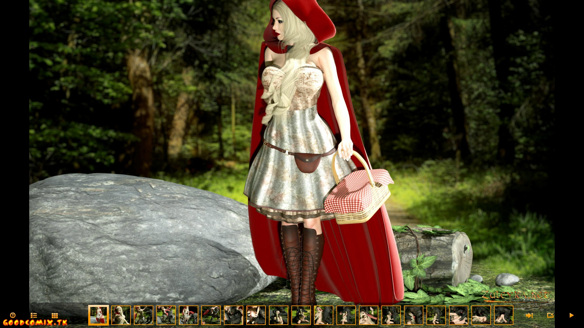 Goodcomix.tk Little Red Riding Hood - [Zuleyka] - Red Riding Hood In The Adult World