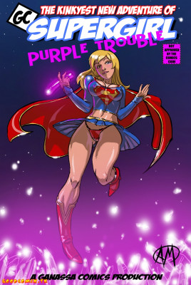 Goodcomix Superman - [Ganassa (Alessandro Mazzetti)] - Supergirl Purple Trouble