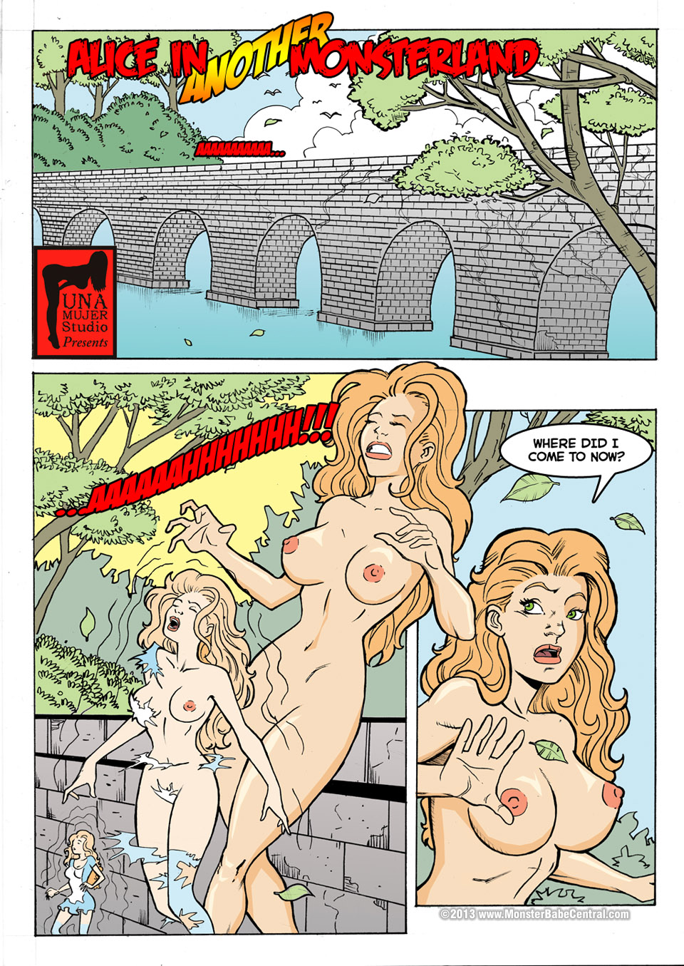 Goodcomix.tk Alice in Wonderland - [MonsterBabeCentral] - Alice in Another Monsterland 01