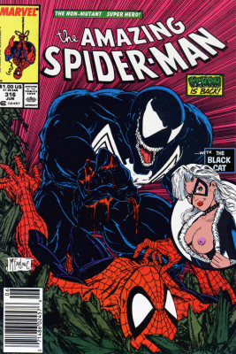 Goodcomix Spider-Man - Amazing Spider-Man - Venom is Back #316 (1989) - (Un-Censor Works)