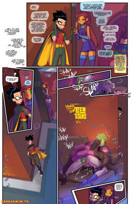 Goodcomix The Teen Titans - [Fred Perry] - Barely EighTeen Titans 2