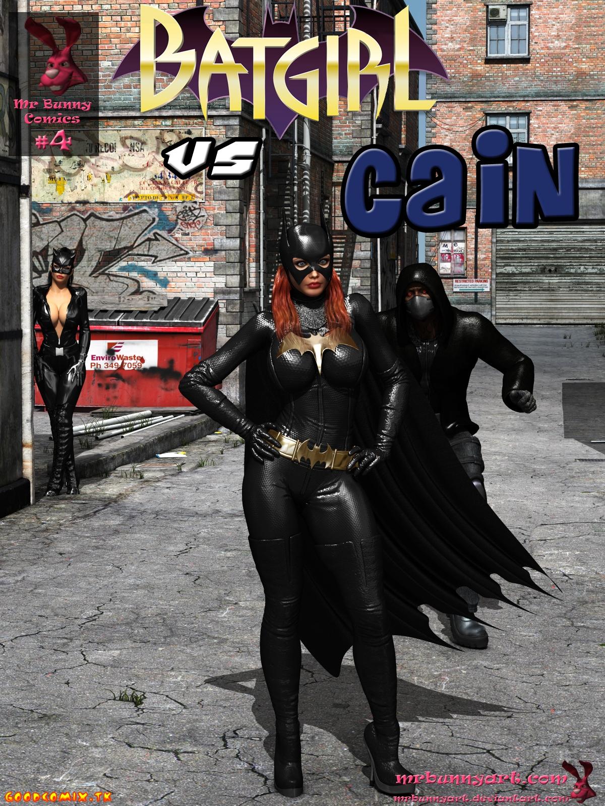 Goodcomix.tk Batman - [MrBunnyArt] - Batgirl vs Cain