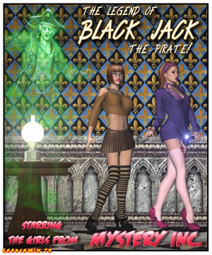 Goodcomix Scooby Doo - [Foxy Komix][3D] - The Legend Of Black Jack The Pirate 1-9