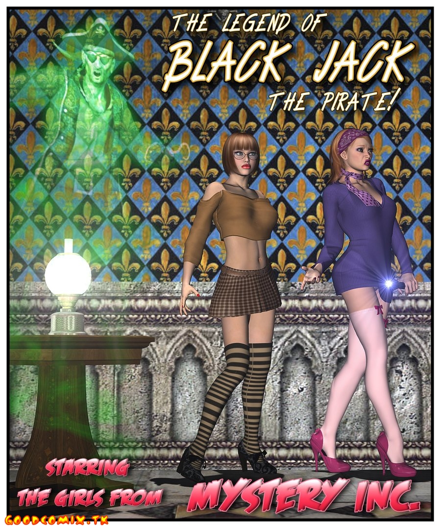 Goodcomix.tk Scooby Doo - [Foxy Komix][3D] - The Legend Of Black Jack The Pirate 1-9