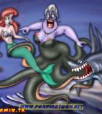 The Little Mermaid - [PornCartoon] - Delicious Shark