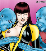 "Watchmen - [Leandro Comics] - ""Oh Dr Manhattan, You Are So Naughty!"""