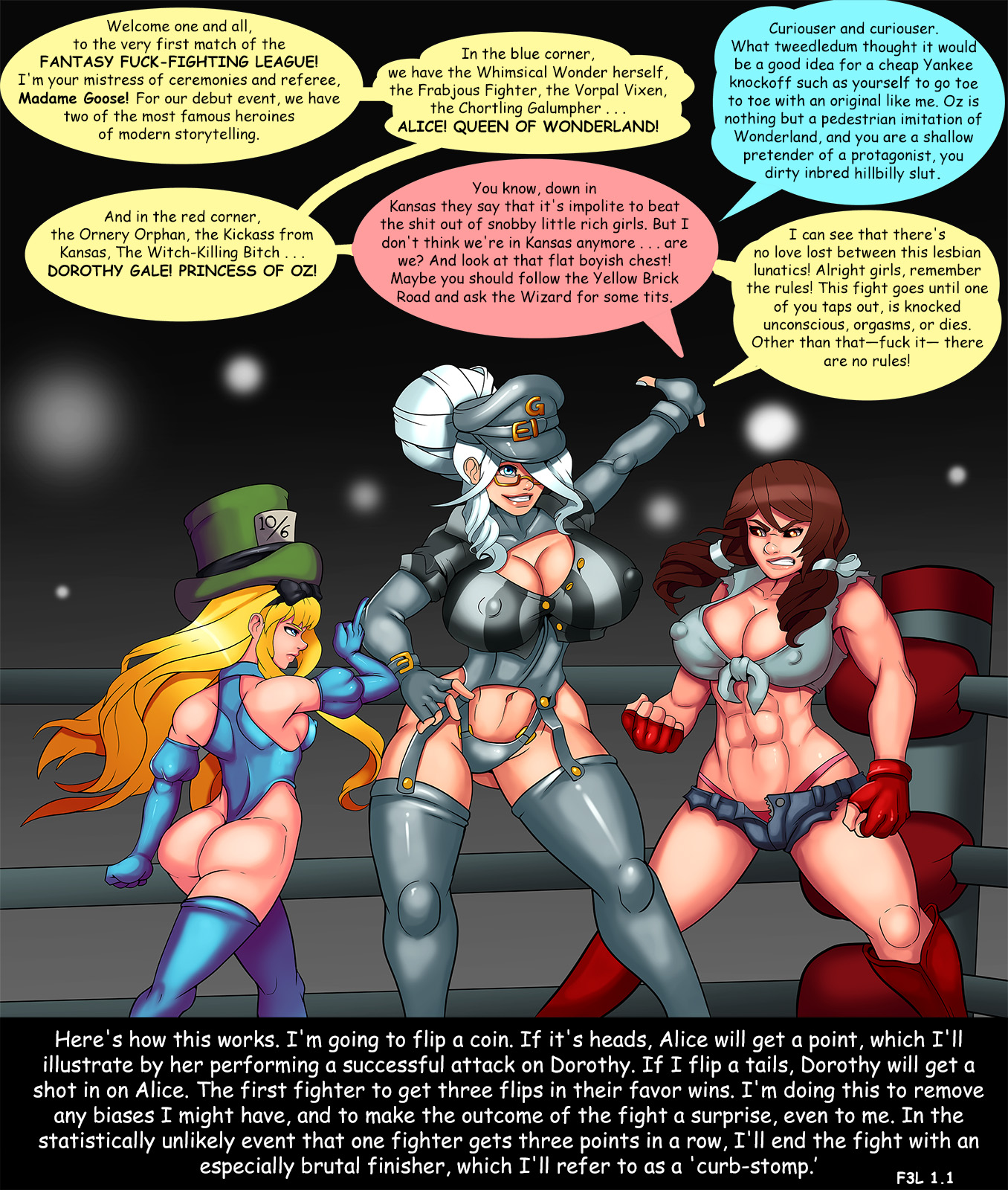 Goodcomix.tk Crossover - [Markydaysaid] - Fantasy Fuck-Fighting League