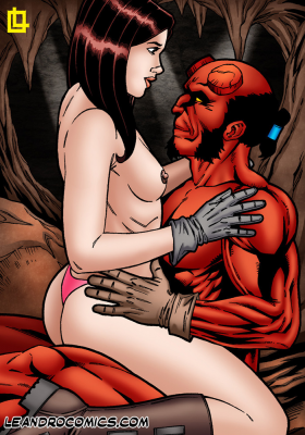 Goodcomix Hellboy - [Leandro Comics] - Hellboy Has Kinky Hot Sex With The Naughty Liz