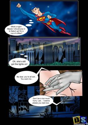 Goodcomix Justice League - [Drawn-Sex][Sanches]Justice League - Horny Saturn Part.1