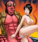 Hellboy (Movie) - [GoGoCeleb] - Hot and Red