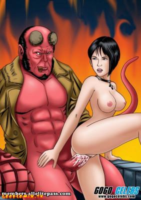Goodcomix Hellboy (Movie) - [GoGoCeleb] - Hot and Red