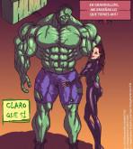 The Avengers - [Mnogobatko] - Hulk vs Black Widow