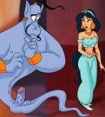 Aladdin - [XL-Toons] - Jasmine & Blue Dick
