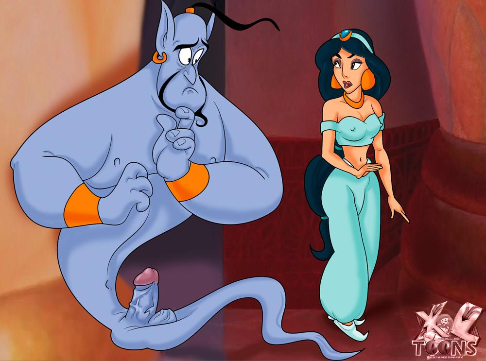 Goodcomix.tk Aladdin - [XL-Toons] - Jasmine & Blue Dick