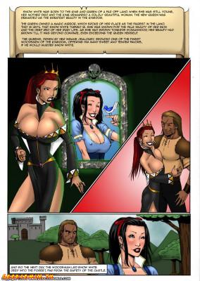 Goodcomix Snow White - [DeucesWorld] - Lesbo Protector