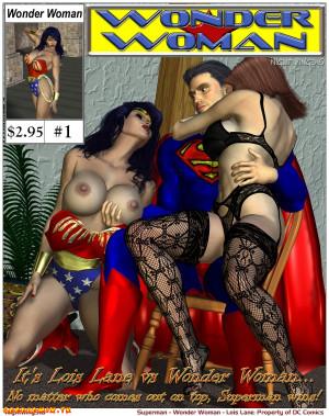 Goodcomix Superman - [Nightwing316] - Lois Lane VS. Wonder Woman