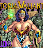 Wonder Woman — [SuperHeroine Comixxx][Joe Alex] — Victoria Valiant — The Smuggling!