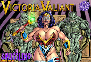 Goodcomix Wonder Woman - [SuperHeroine Comixxx][Joe Alex] - Victoria Valiant - The Smuggling!