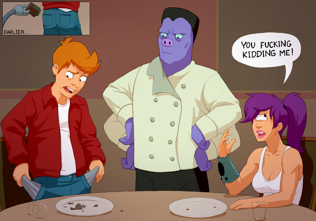 Goodcomix.tk Futurama - [Kotaotake] - Typical Date With Fry
