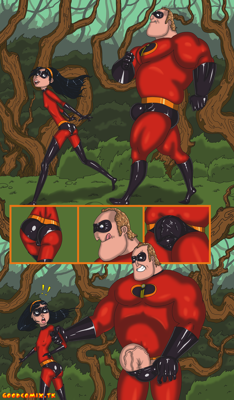 Goodcomix.tk The Incredibles - [Mnogobatko] - The Incredibles 1 - Walk With Dad