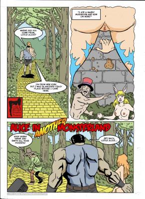 Goodcomix Alice in Wonderland - [MonsterBabeCentral] - Alice in Monsterland 11 - Alice in Another Monsterland 02