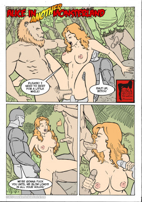 Goodcomix Alice in Wonderland - [MonsterBabeCentral] - Alice in Monsterland 12 - Alice in Another Monsterland 03