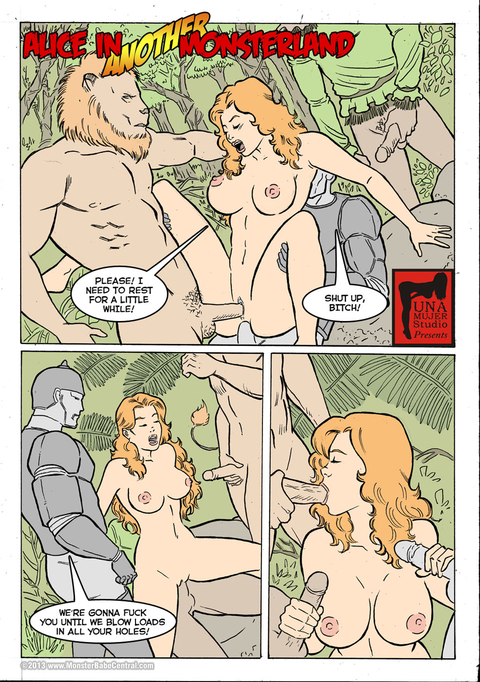 Goodcomix.tk Alice in Wonderland - [MonsterBabeCentral] - Alice in Monsterland 12 - Alice in Another Monsterland 03